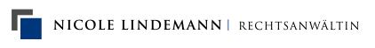 Rechtsanwältin Nicole Lindemann Logo